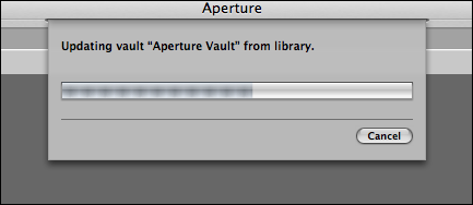 Aperture Vault Progress