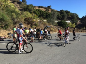 Checking in for the inaugural LKHC ride of 2014