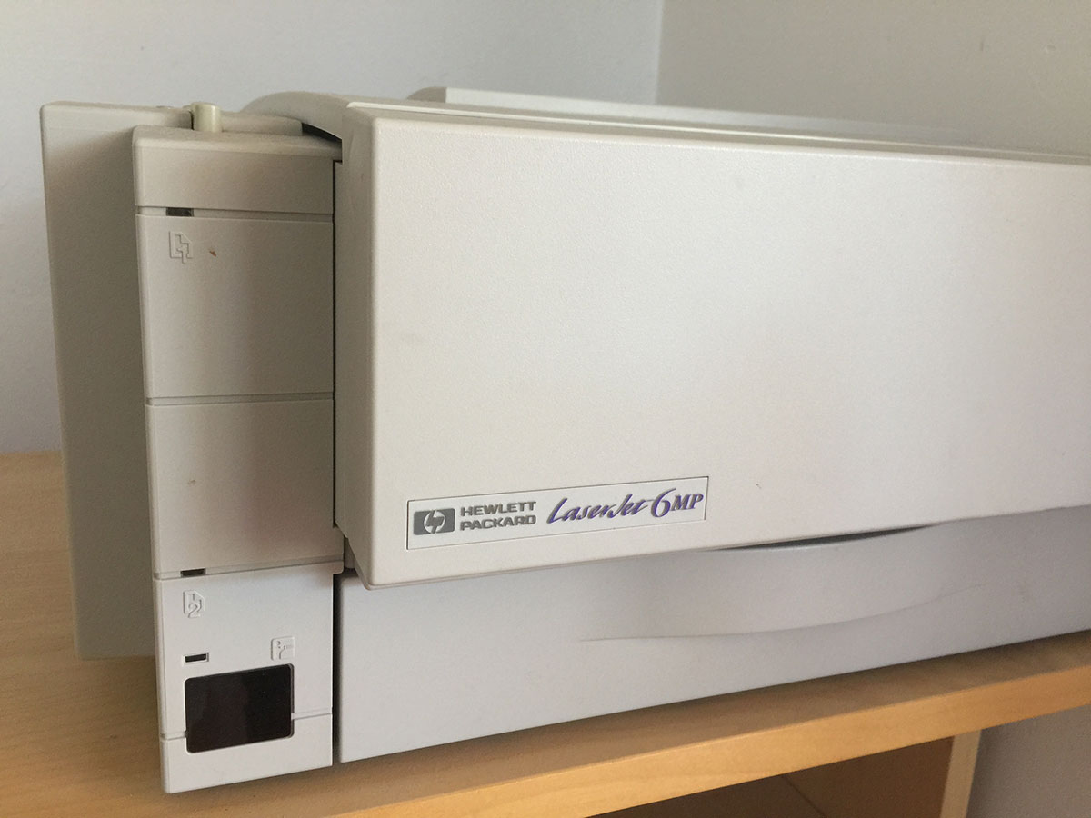HP LaserJet 6MP and Infrared Port – tow com