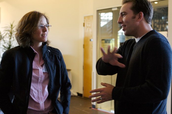 Alex speaking with Megan Smith, now the CTO of America