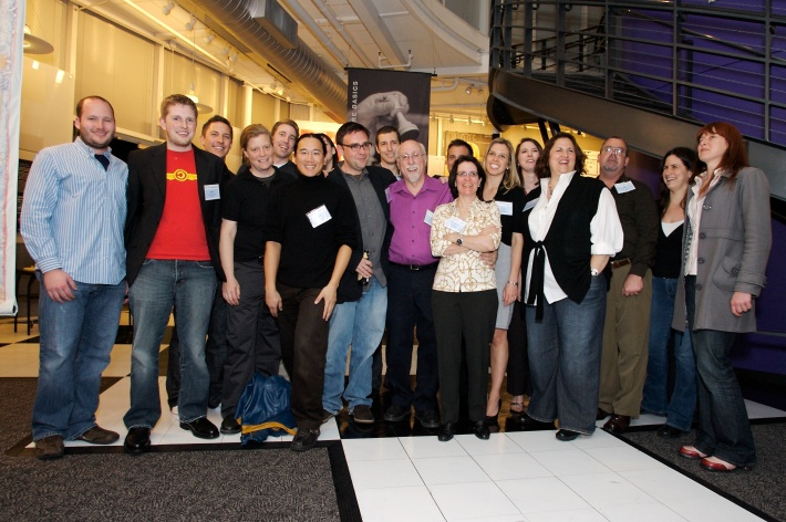 The AllThingsD Launch Party in April, 2007.