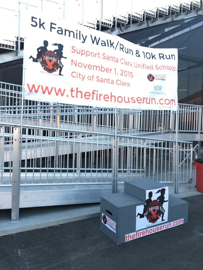 The Firehouse Run Podium