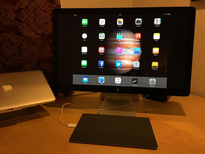 No, Apple is not planning to create a 27-inch iPad Pro, but we can see what it would be like!