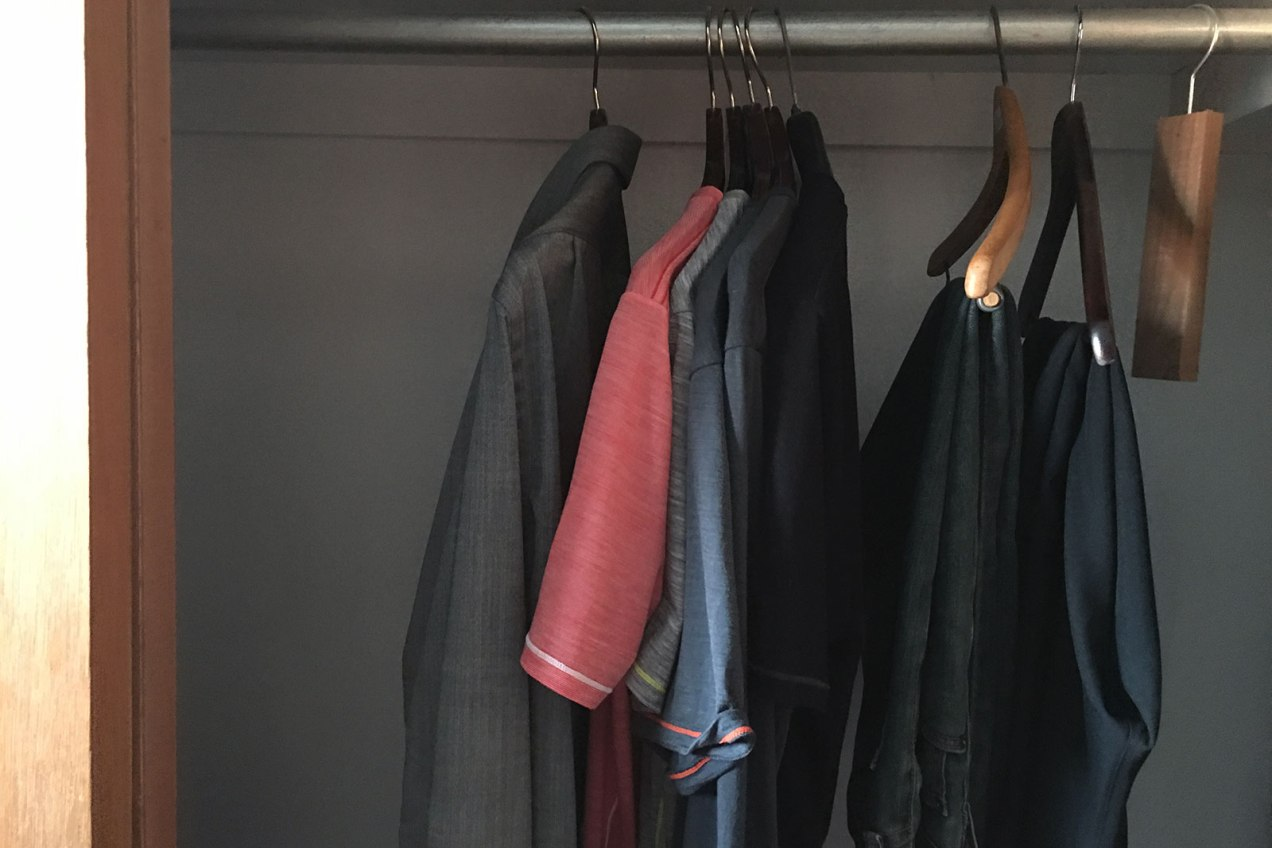 The Minimalist Closet One Year Later